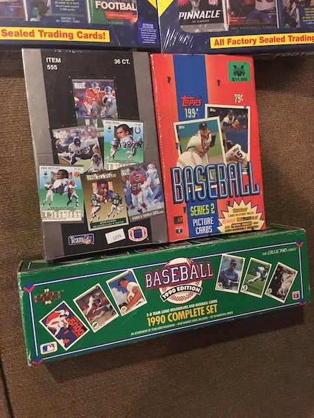 Sports Card Lot: Unopened Football Packs,1998 Packs - 2