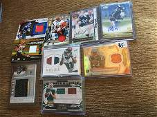 Large Football Patch Auto RC Lot: Jammal Charles,