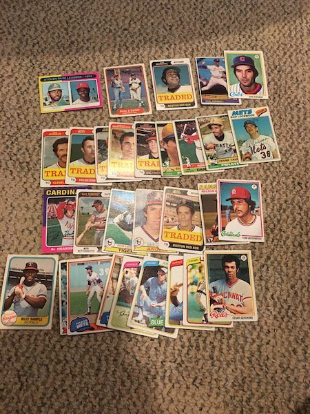 Vintage Baseball card Lot with Hall of Famers