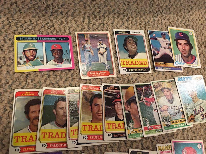 Vintage Baseball card Lot with Hall of Famers - 2