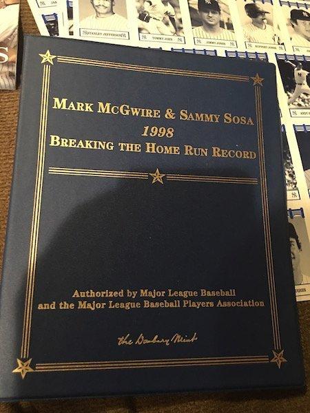 Mcgwire Sosa Dandury Mint Gold Card set Babe Ruth Tuff - 7