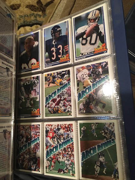 1991 Upper Deck Football Set 2 Favre Rcs and 1995 Score - 7