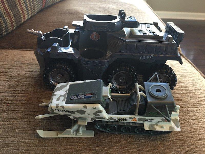 2 Gi Joe Vehicles