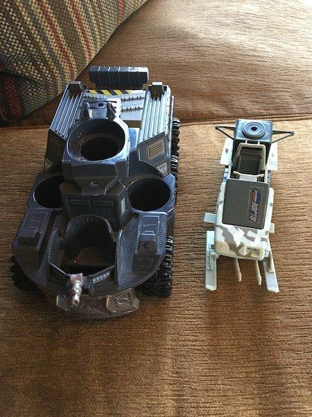 2 Gi Joe Vehicles - 2