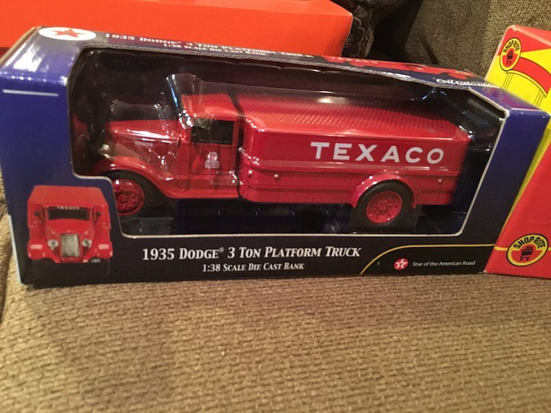 1905 Shoprite Ford Delivery Bank and a 1935 Texaco - 2