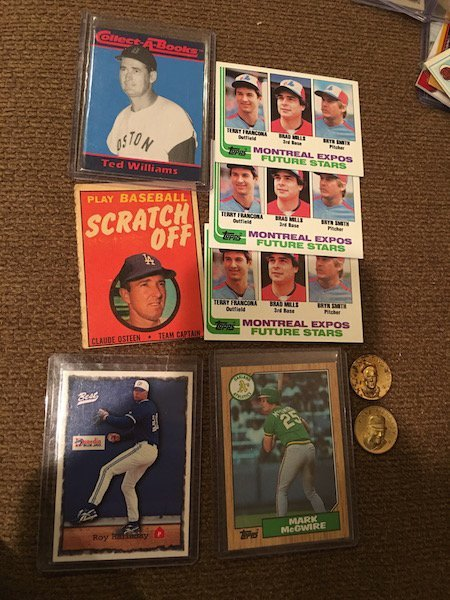 Baseball RC Vintage and 1960's Coin Lot: Terry