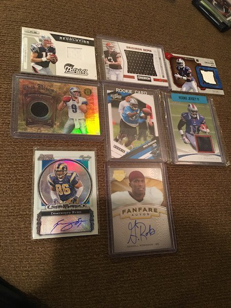 Football Card Auto and Jersey card Lot: Matthew