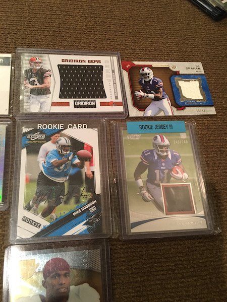 Football Card Auto and Jersey card Lot: Matthew - 4