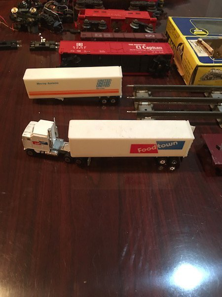 Large Lot of HO and O Scale Trains with Train Motors - 2