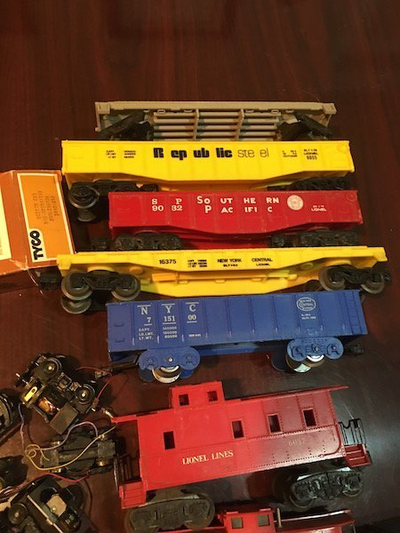 Large Lot of HO and O Scale Trains with Train Motors - 4