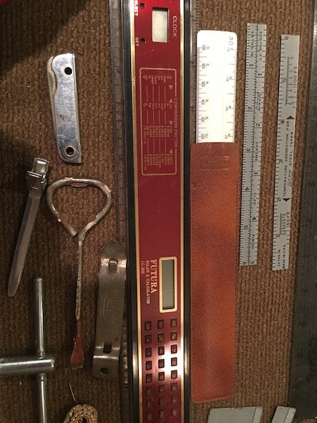 Lot of Vintage Rulers and other Misc Stuff: Futura - 2