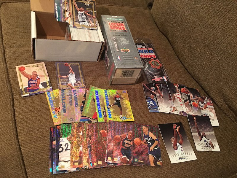 Basketball Card Lot: 1993 Skybox EX Set with Inserts