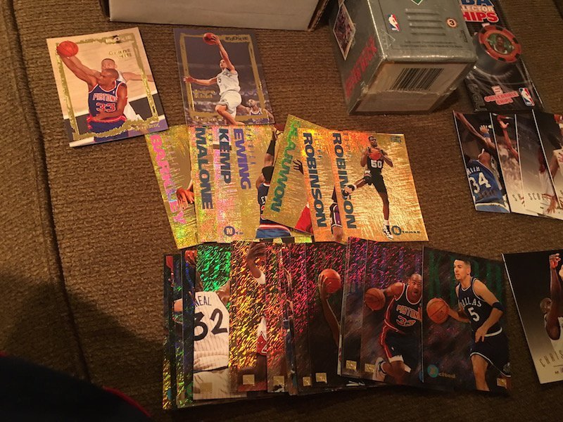 Basketball Card Lot: 1993 Skybox EX Set with Inserts - 3