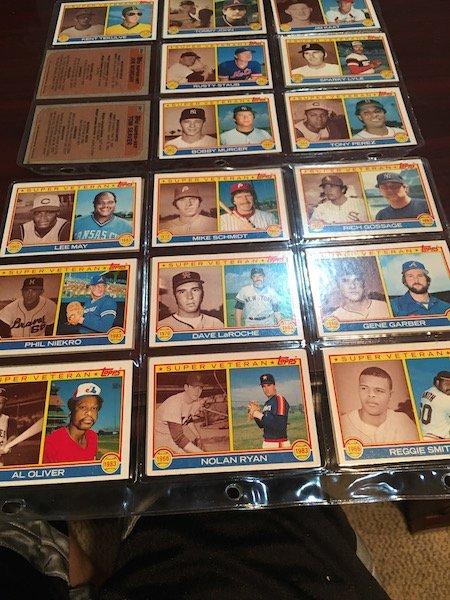 1983 Topps Super Veteran Lot of Baseball cards: Reggie - 3