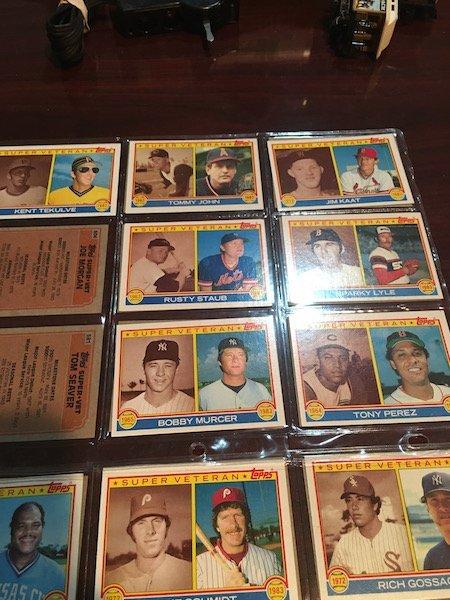 1983 Topps Super Veteran Lot of Baseball cards: Reggie - 4