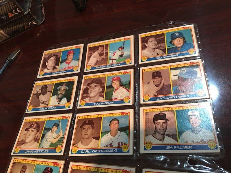 1983 Topps Super Veteran Lot of Baseball cards: Reggie - 5