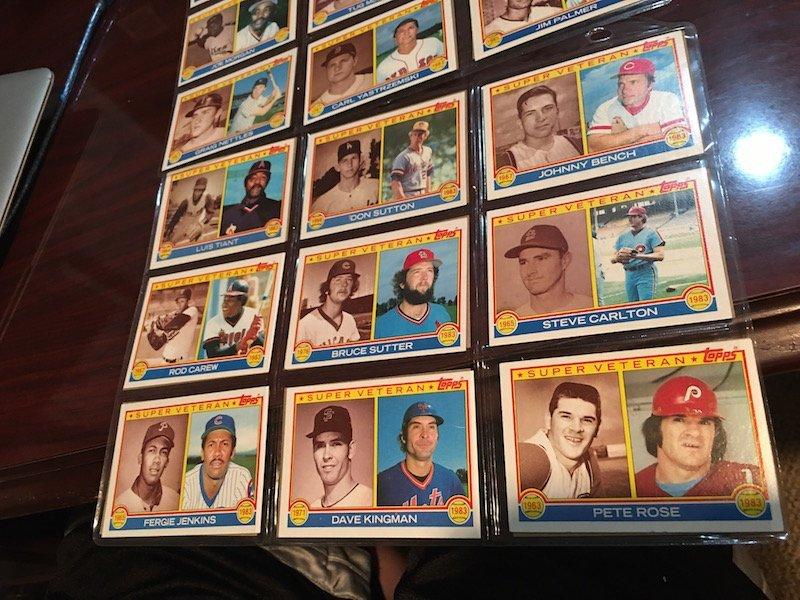1983 Topps Super Veteran Lot of Baseball cards: Reggie - 6
