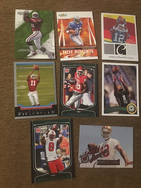 Larry Fitzgerald Calvin Johnson and other WR's RC Lot