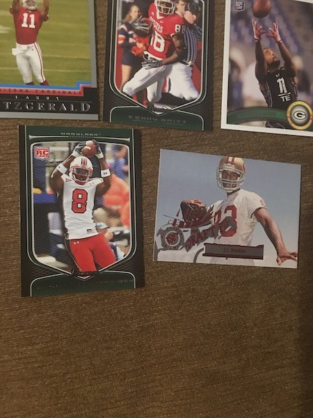 Larry Fitzgerald Calvin Johnson and other WR's RC Lot - 4