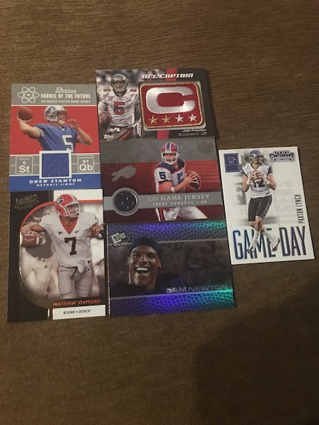 Matthew Stafford Cam Newton Paxton Lynch and More RC
