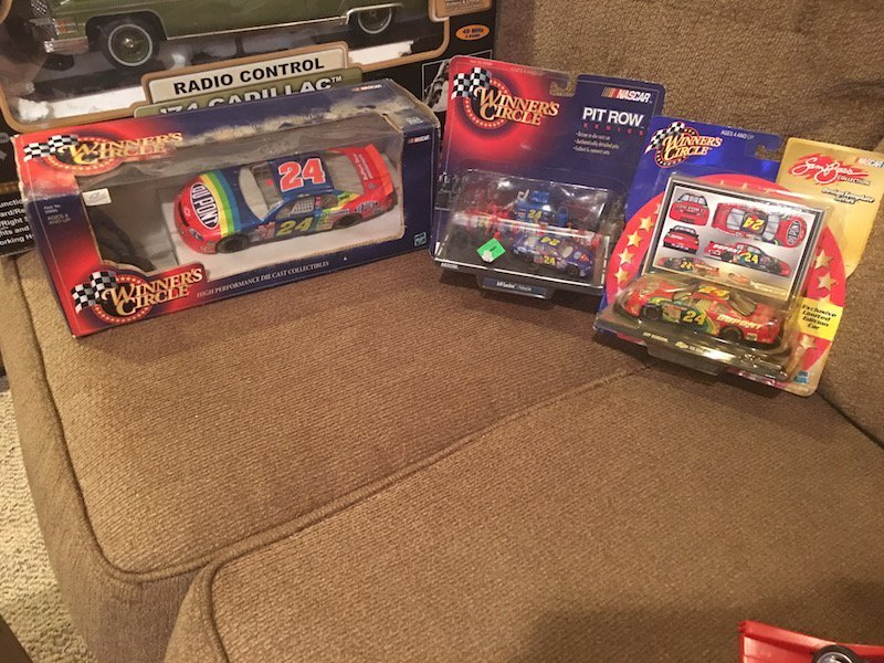 Jeff Gordon Winners Circle Lot of 3 Cars New in Package