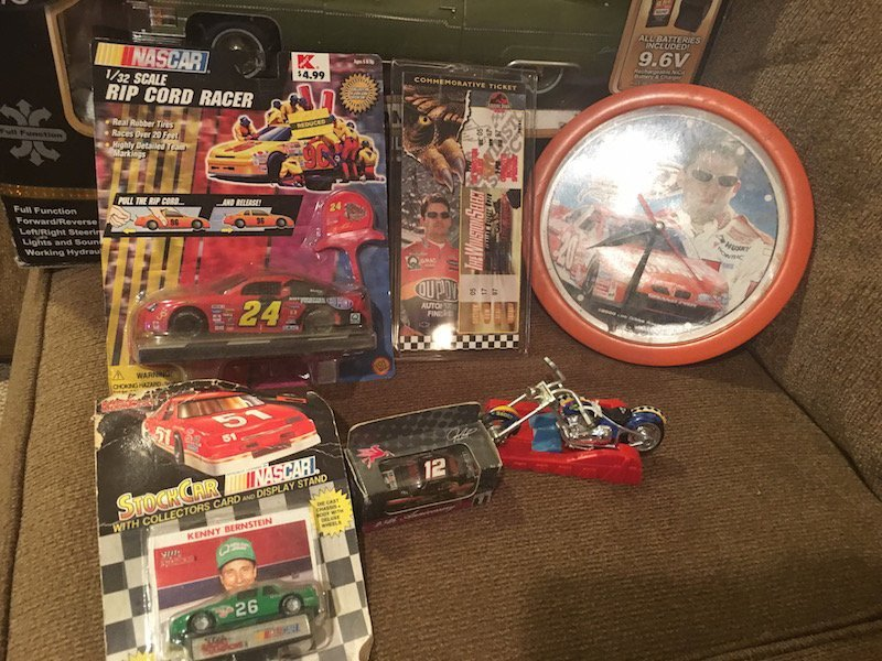 Jeff Gordon and other Diecast Car Lot with a Tony