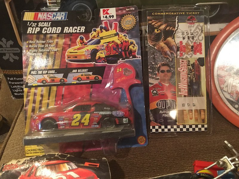Jeff Gordon and other Diecast Car Lot with a Tony - 2