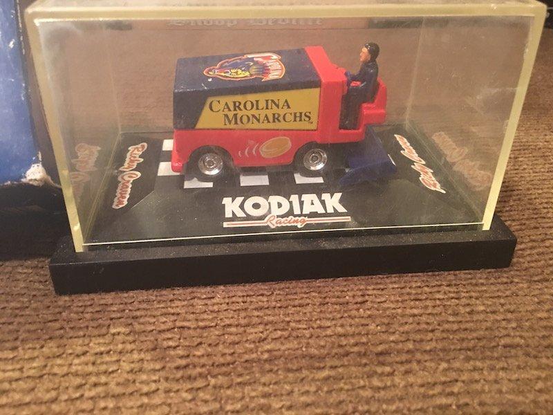 Ricky craven carolina Monarchs Zamboni and 1996 Atlanta - 2
