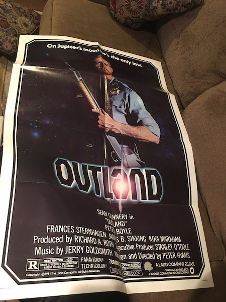 Outland Orig. Movie Poster Sean Connery