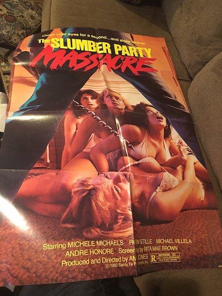 The Slumber Party Massacre (1982) Movie Poster