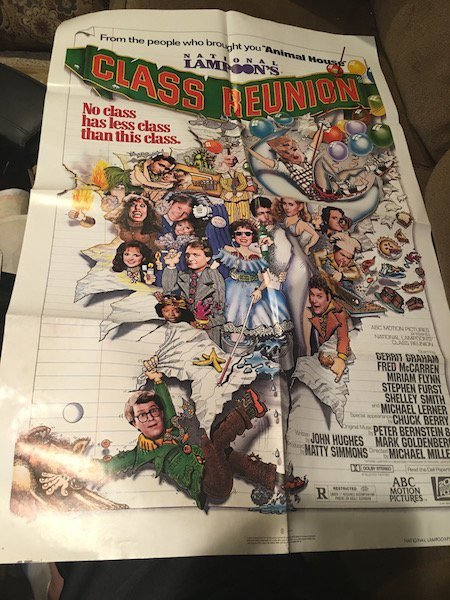 National Lampoon's Class Reunion 1982 Original Movie