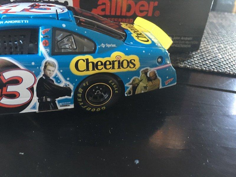1/24 John Andretti #43 2002 Cheerios Star Wars Attack - 3