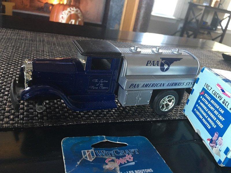 Pat Burrell team Collectible Gear Box Car Ertl Truck - 4