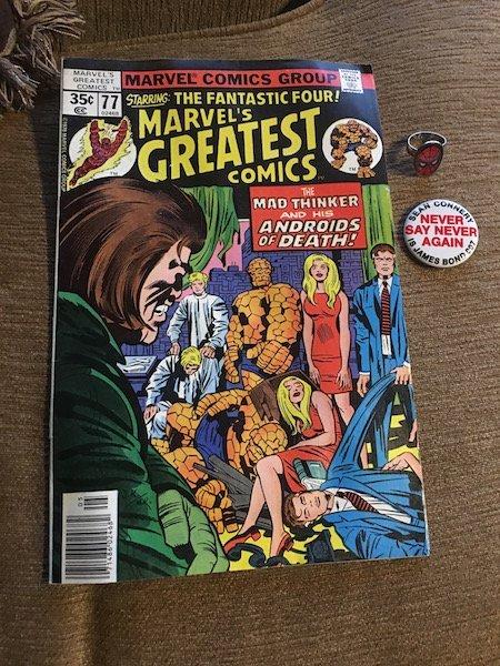 The Fantastic Four Marvel's Greatest Comics plus a