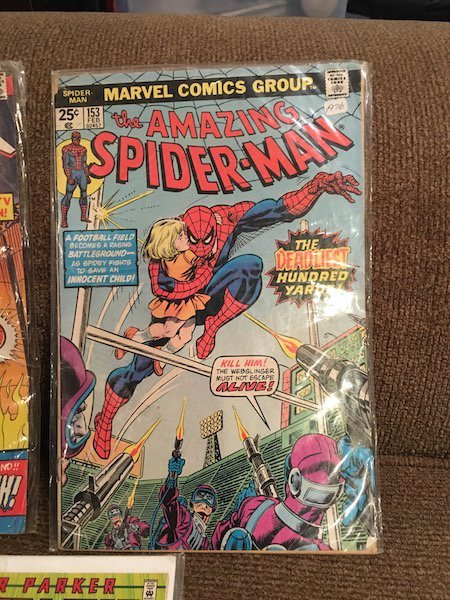 The Amazing Spiderman Comic Lot #184 and #153 and Peter - 3
