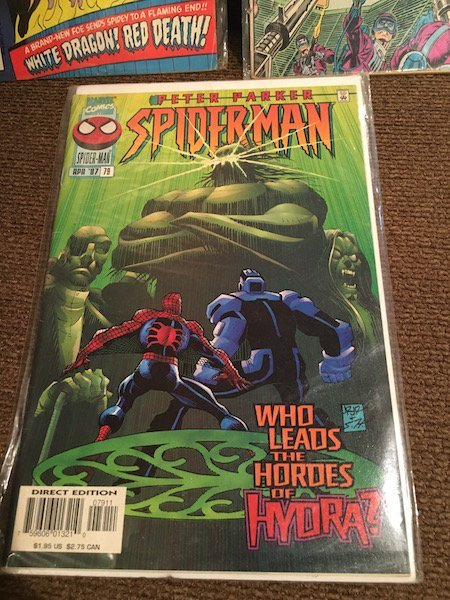 The Amazing Spiderman Comic Lot #184 and #153 and Peter - 4