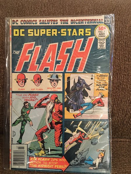 The Flash DC Super Stars #5 Comic Vintage