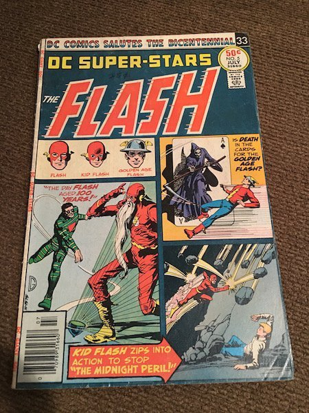 The Flash DC Super Stars #5 Comic Vintage - 2