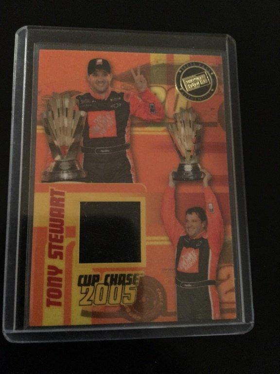 2006 PRESS PASS TONY STEWART 2005 CUP CHASE RACE