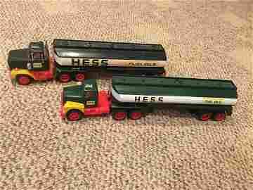 2- late 1960's early 1970's Hess Trucks Nice