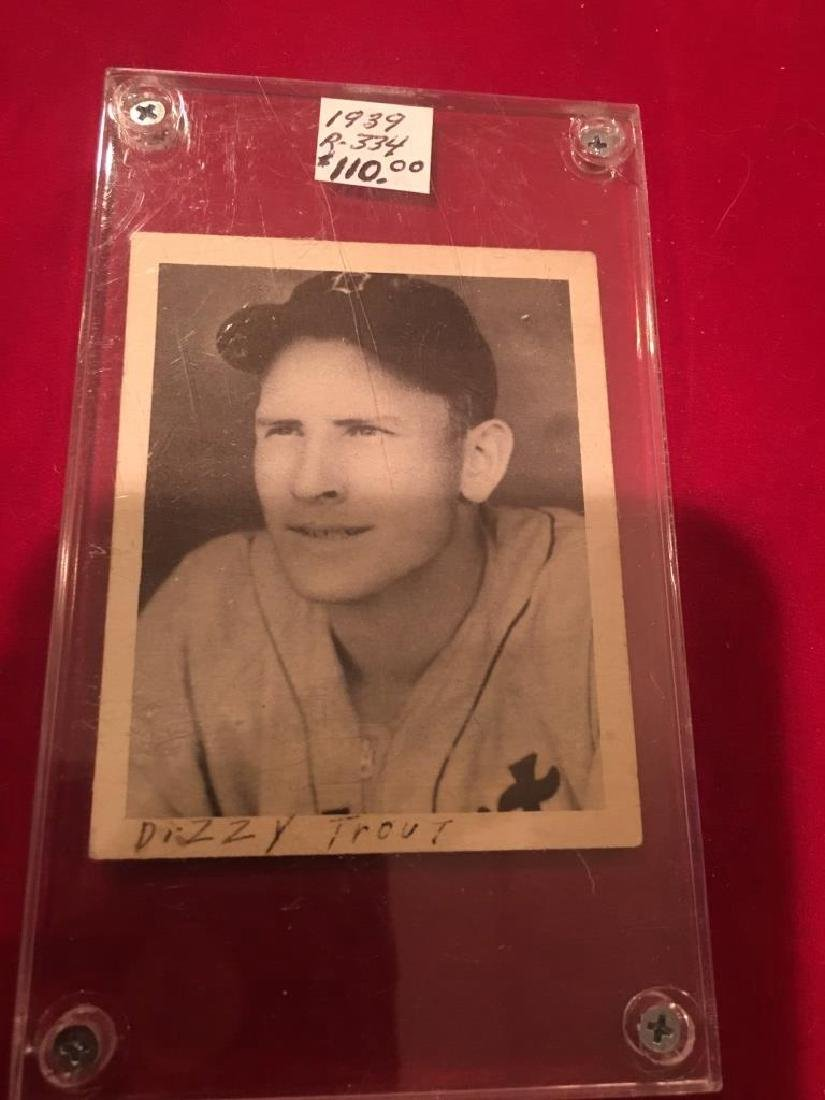 PAUL DIZZY TROUT tigers ROOKIE 1939 PLAY BALL #153