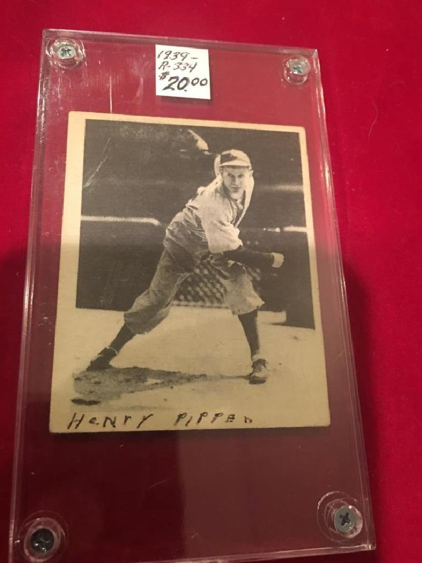Henry Pippen 1939 Play Ball #8