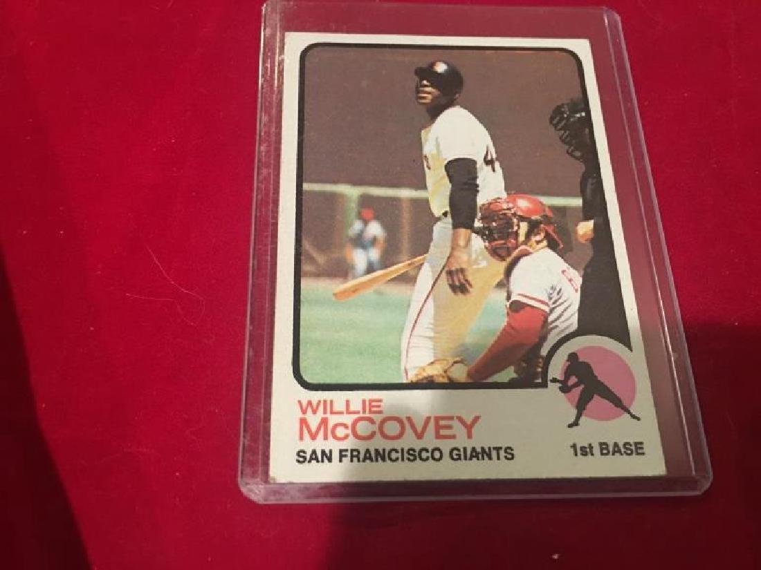 1973 Topps Baseball Willie McCovey #410