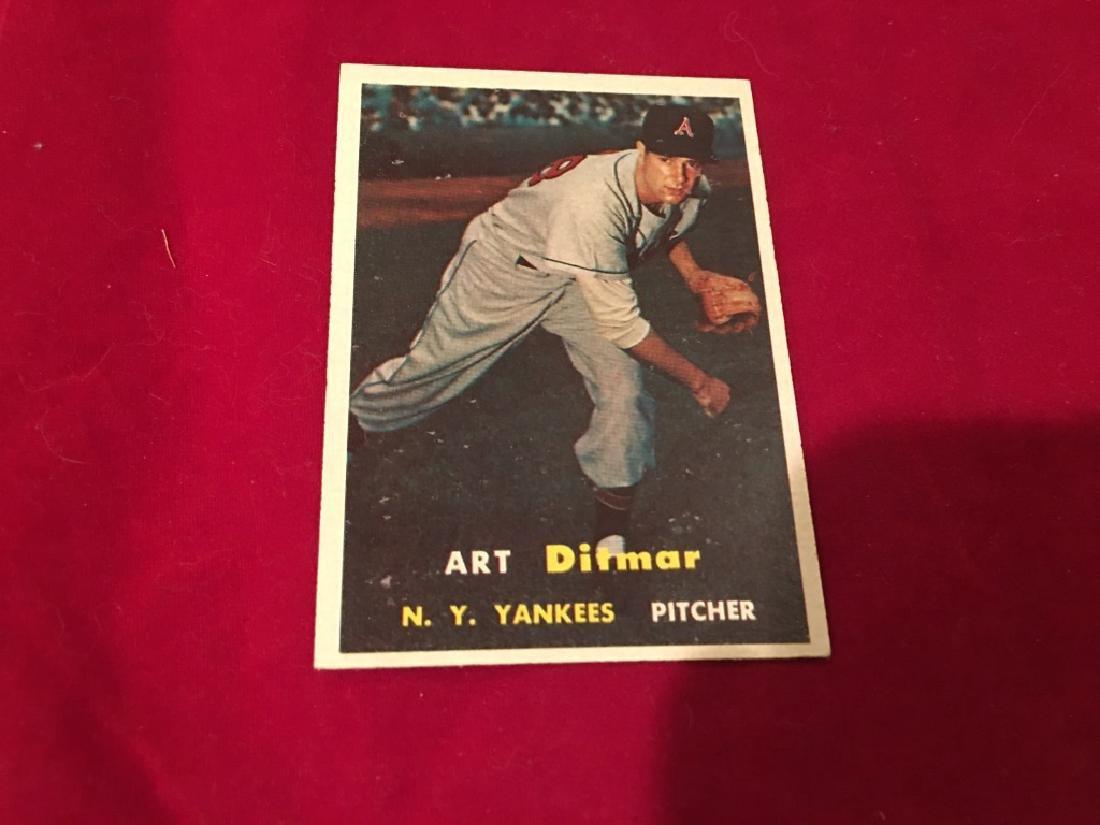 1957 Topps Set Break #132 Art Ditmar EX-EXMINT