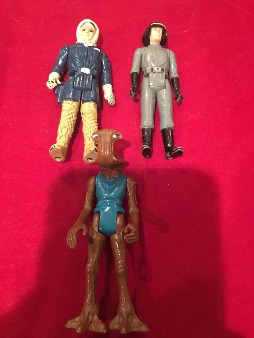Lot of 3 Vintage 1970's Star Wars Figures