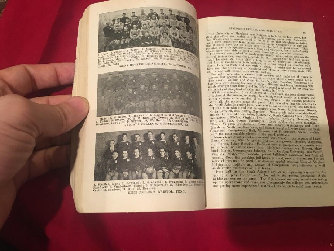 1922 Spalding's Athletic Library Official Interco - 3