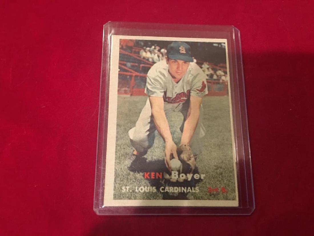 ken boyer 1957 topps