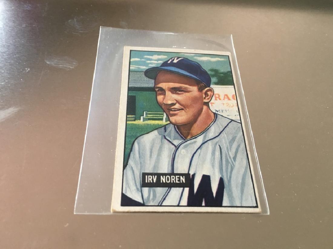 1951 Bowman Irv Noren