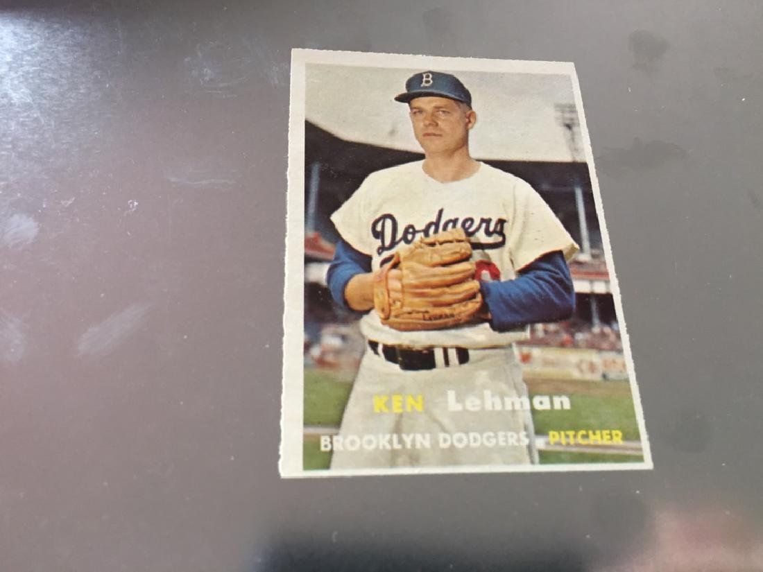 1957 Topps #366 Ken Lehman