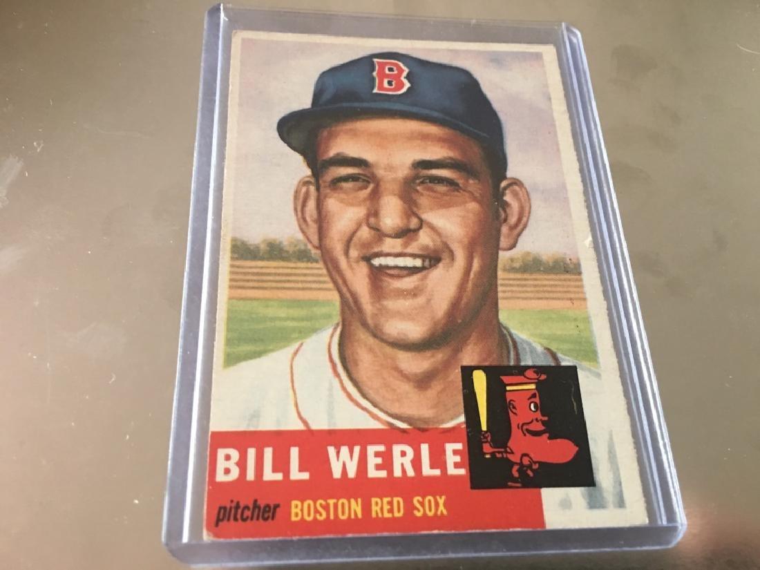 1953 Topps #170 Bill Werle